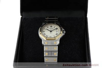 CARTIER SANTOS RONDE STEEL / GOLD QUARTZ KAL. 87 LP: 6800EUR [141468]