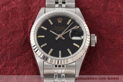 ROLEX LADY DATE ACIER / OR AUTOMATIQUE KAL. 2135 [141469]