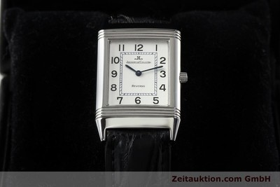JAEGER LE COULTRE REVERSO STEEL MANUAL WINDING [141477]