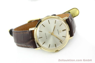 OMEGA 14 CT YELLOW GOLD MANUAL WINDING KAL. 601 [141485]