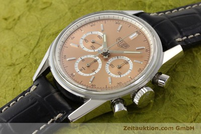 TAG HEUER CARRERA CHRONOGRAPH STEEL MANUAL WINDING KAL. LWO 1875 [141496]