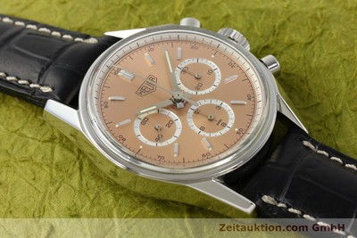 TAG HEUER CARRERA REEDITION CHRONOGRAPH HANDAUFZUG CS3112 VP: 4150,- Euro [141496]