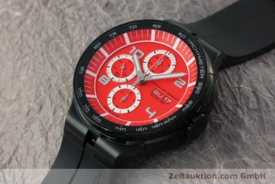 PORSCHE DESIGN FLAT SIX CHRONOGRAPHE ACIER AUTOMATIQUE [141500]