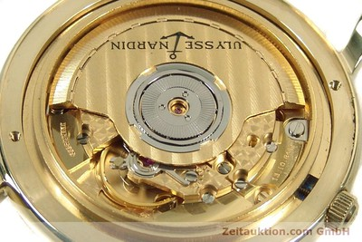 ULYSSE NARDIN SAN MARCO 14 CT YELLOW GOLD AUTOMATIC KAL. ETA 2892-2 [141506]