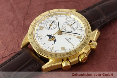 OMEGA SPEEDMASTER 18 CT GOLD AUTOMATIC KAL. 1150 VAL 7751 [141510]