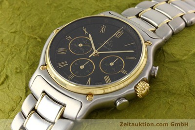 EBEL 1911 CHRONOGRAPH STEEL / GOLD AUTOMATIC KAL. 134 [141513]