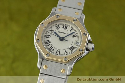 CARTIER SANTOS ACIER / OR QUARTZ [141514]