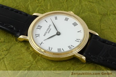 PATEK PHILIPPE CALATRAVA OR 18 CT QUARTZ KAL. E19 [141536]