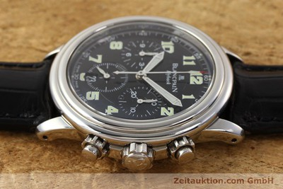 BLANCPAIN LEMAN CHRONOGRAPH STEEL AUTOMATIC KAL. F185 [141548]