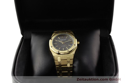 AUDEMARS PIGUET 18K GOLD ROYAL OAK AUTOMATIK HERRENUHR B27623 VP: 41600, EURO [141551]