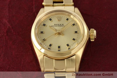 ROLEX OYSTER PERPETUAL OR 18 CT AUTOMATIQUE KAL. 2030 [141552]