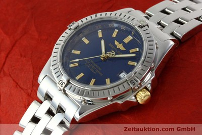 BREITLING WINGS STEEL AUTOMATIC KAL. ETA 2892A2 LP: 4450EUR [141565]