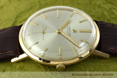 BREITLING 18 CT GOLD MANUAL WINDING KAL. PESEUX 330 [141567]