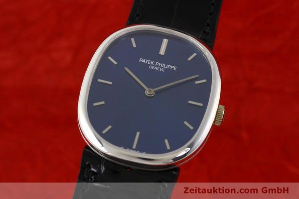 PATEK PHILIPPE ELLIPSE 18 CT WHITE GOLD MANUAL WINDING KAL. 23-300  [141578]