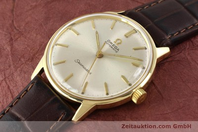 OMEGA SEAMASTER 14 CT YELLOW GOLD AUTOMATIC KAL. 552 [141581]