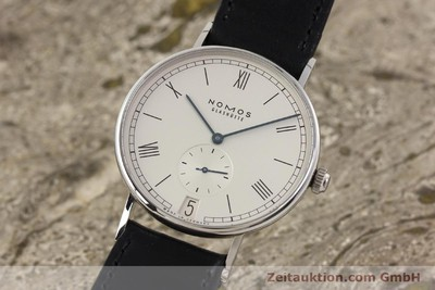 NOMOS LUDWIG STEEL MANUAL WINDING KAL. BETA 10266 [141589]