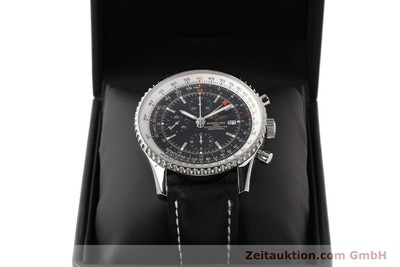BREITLING NAVITIMER WORLD CHRONOGRAPH STEEL AUTOMATIC KAL. ETA 7754 [141593]