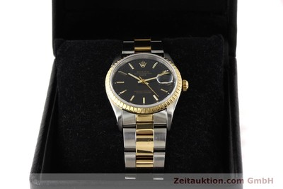 ROLEX DATE STEEL / GOLD AUTOMATIC KAL. 3135 [141598]