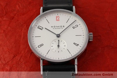 NOMOS TANGENTE STEEL MANUAL WINDING KAL. ALPHA 78641 [141600]