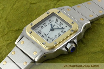 CARTIER SANTOS STEEL / GOLD AUTOMATIC KAL. ETA 2670 [141604]