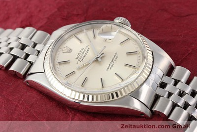 ROLEX DATEJUST ACIER / OR AUTOMATIQUE KAL. 1570 [141615]