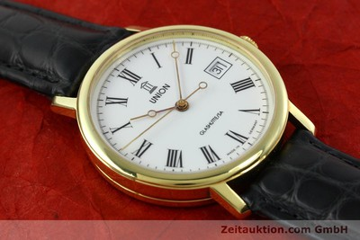 UNION GLASHÜTTE GILT STEEL AUTOMATIC KAL. ETA 2824-2 [141629]