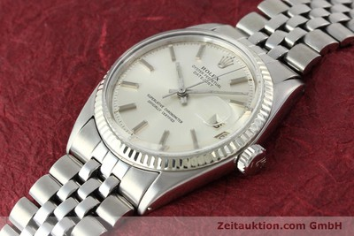 ROLEX DATEJUST ACIER / OR AUTOMATIQUE KAL. 1560 [141637]