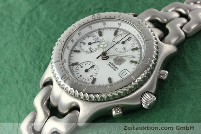 AG HEUER LINK AUTOMATIK CHRONOGRAPH PROFESSIONAL CG2110-RO STAHL VP: 3500,- EURO [141639]