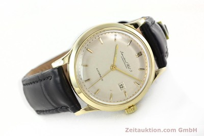 IWC PORTOFINO 14 CT YELLOW GOLD AUTOMATIC KAL. C.8521 [141644]