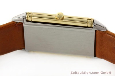 JAEGER LE COULTRE REVERSO STEEL / GOLD QUARTZ KAL. 602.1 [141651]