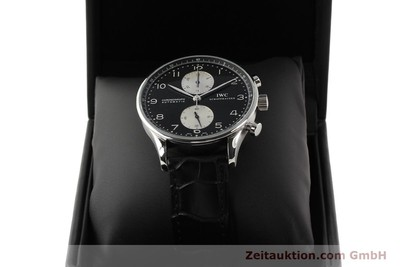 IWC PORTUGIESER STEEL AUTOMATIC KAL. C.79240 [141653]