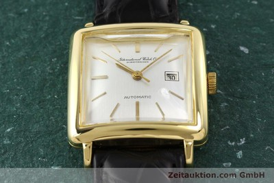 IWC 18 CT GOLD AUTOMATIC KAL. C.8521 [141661]