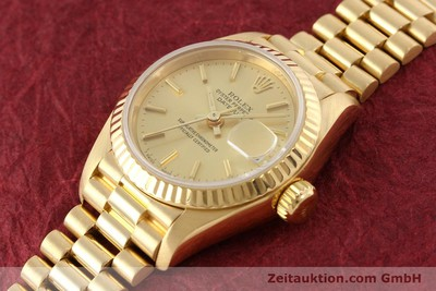 ROLEX LADY DATEJUST OR 18 CT AUTOMATIQUE KAL. 2135 [141665]