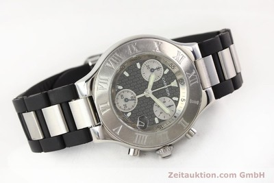 CARTIER CHRONOSCAPH 21 STEEL QUARTZ KAL. 272 ETA 251272 [141669]