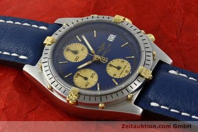 BREITLING CHRONOMAT CHRONOGRAPH STEEL / GOLD AUTOMATIC KAL. B13 VAL 7750 [141689]