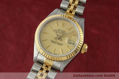 ROLEX LADY DATEJUST STEEL / GOLD AUTOMATIC KAL. 2135 [141697]