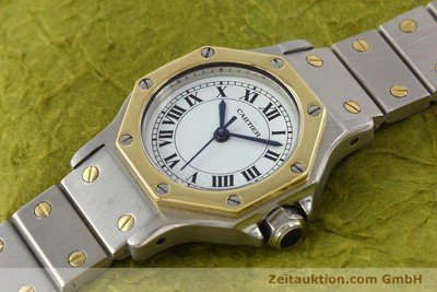 CARTIER SANTOS STEEL / GOLD AUTOMATIC [141699]