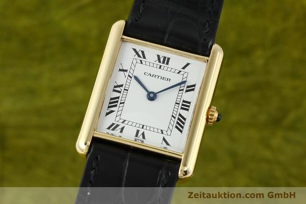 CARTIER TANK ORO 18 CT QUARZO KAL. 90.06 [141703]