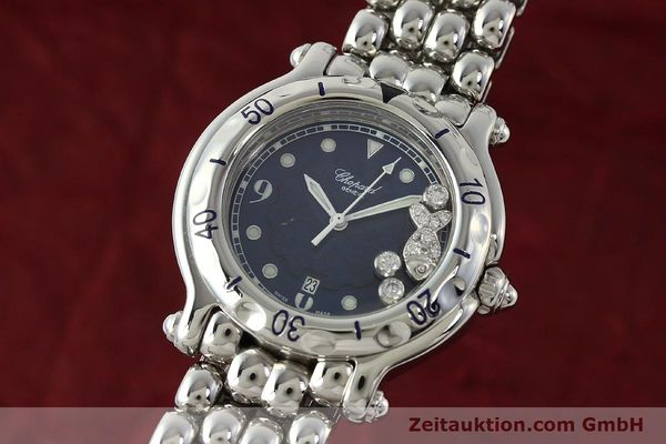 CHOPARD HAPPY SPORT STEEL QUARTZ KAL. ETA 956.112 LP: 6930EUR [141707]