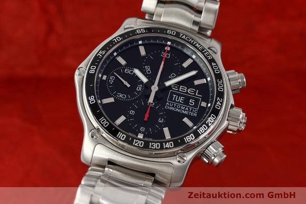 EBEL DISCOVERY STEEL AUTOMATIC KAL. E9750L62 [141708]