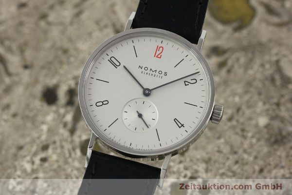 NOMOS TANGENTE STEEL MANUAL WINDING KAL. ALPHA 92915 [141718]