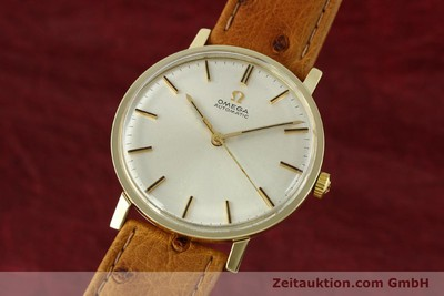 OMEGA 14 CT YELLOW GOLD AUTOMATIC KAL. 552 [141737]