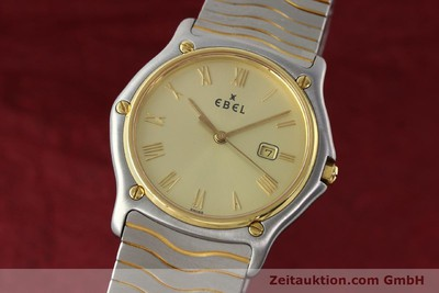 EBEL CLASSIC WAVE STEEL / GOLD QUARTZ KAL. 83 [141739]