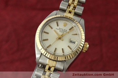 ROLEX LADY DATE ACIER / OR AUTOMATIQUE KAL. 2030 [141740]