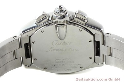 CARTIER ROADSTER STEEL AUTOMATIC KAL. 8510 ETA 2894-2 [141749]