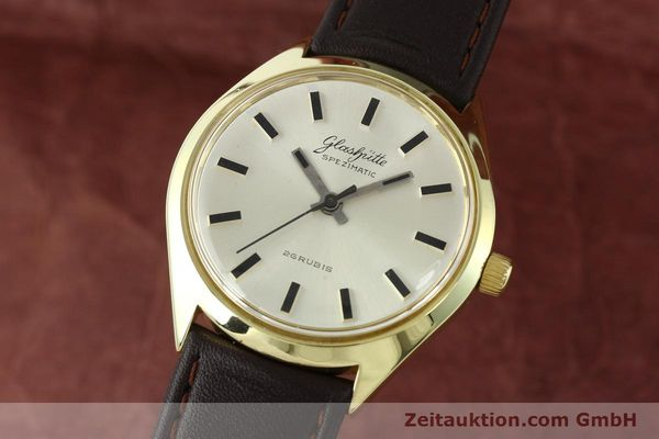 GLASHÜTTE SPEZIMATIC DORÉ AUTOMATIQUE KAL. 74 [141752]