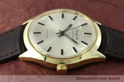 GLASHÜTTE SPEZIMATIC GOLD-PLATED AUTOMATIC KAL. 74 [141752]