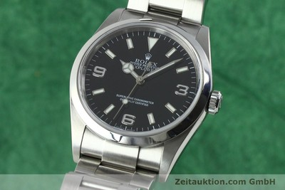 ROLEX EXPLORER STEEL AUTOMATIC KAL. 3130 [141754]