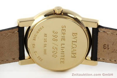 BVLGARI ANFITEATRO 18 CT GOLD AUTOMATIC KAL. 220-MBBE [141764]