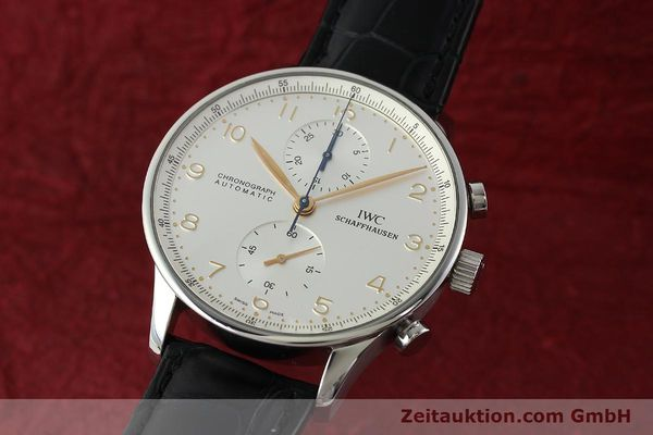 IWC PORTUGIESER STEEL AUTOMATIC KAL. C.79240 [141765]